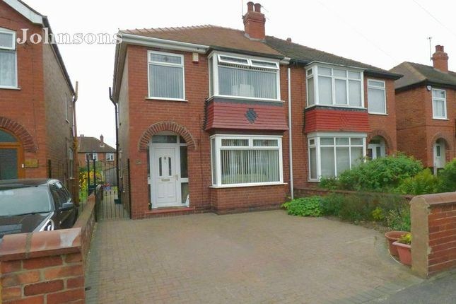 Thumbnail Semi-detached house for sale in Zetland Road, Town Moor, Doncaster.