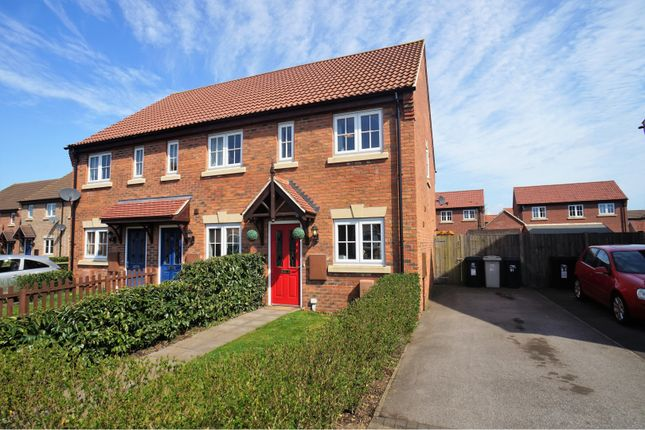 Thumbnail End terrace house for sale in Kings Manor, Coningsby