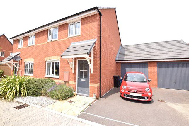 Thumbnail Semi-detached house for sale in Goldcrest Walk, Keynsham, Bristol