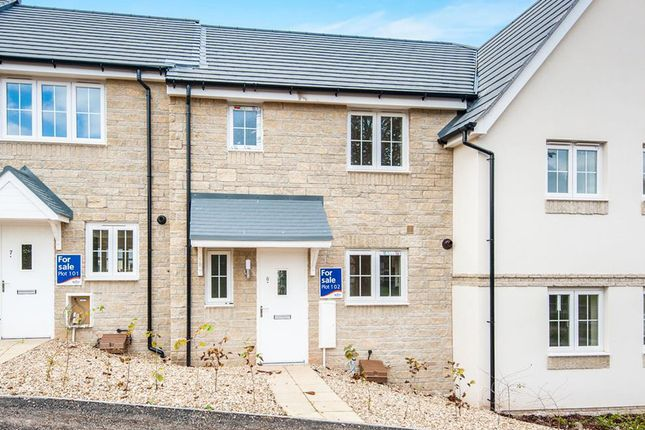 "Thumbnail Terraced house for sale in ""The Southwold"" at Chard Road, Axminster"