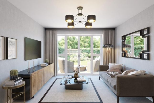 The Bedale Bungalow Living Room CGI