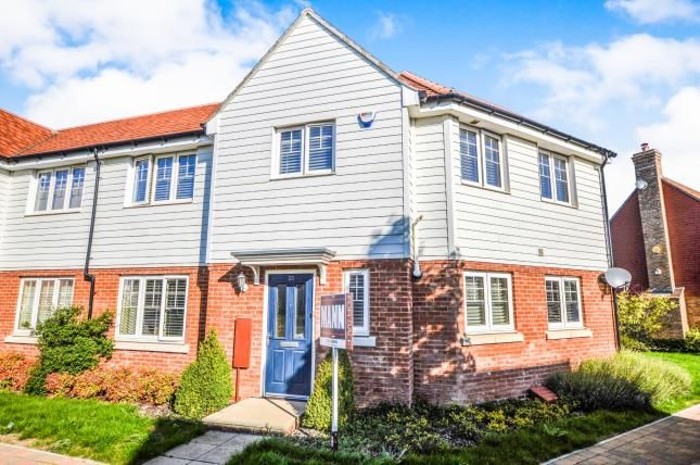 Thumbnail Semi-detached house for sale in Brambling Avenue, Finberry, Ashford, Kent