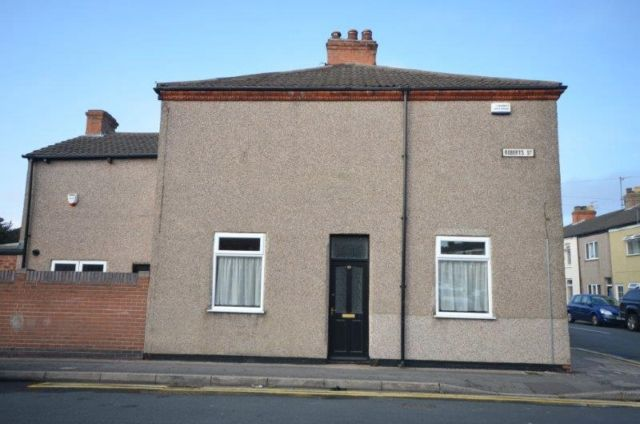 Thumbnail Terraced house to rent in Roberts Street, Grimsby
