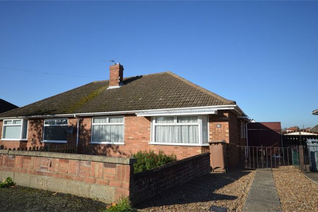 Thumbnail Semi-detached bungalow for sale in Sparhawk Avenue, Sprowston, Norwich