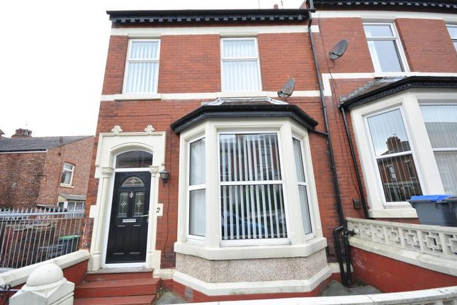 Thumbnail End terrace house for sale in Maple Avenue, Blackpool, Lancashire