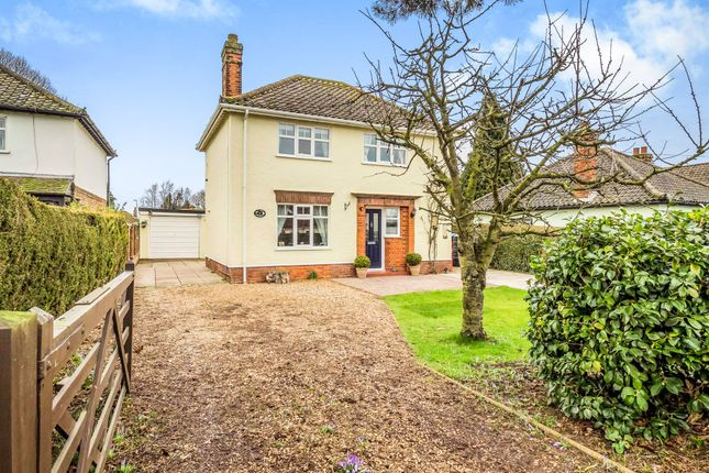 Thumbnail Detached house for sale in Cawston Road, Reepham, Norwich