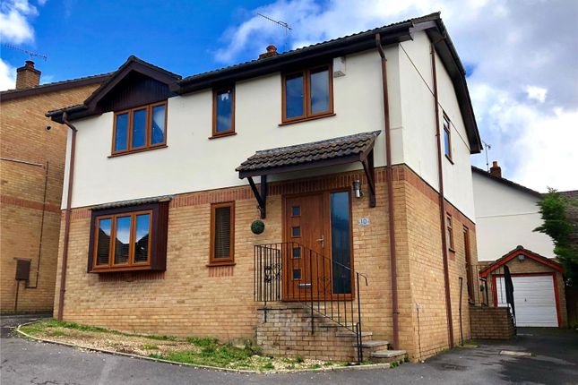 Thumbnail Detached house for sale in Blaney Way, Corfe Mullen, Wimborne, Dorset