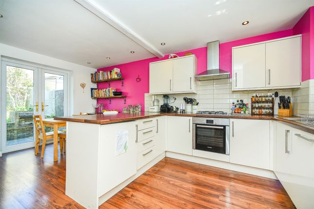 Thumbnail End terrace house for sale in Central Avenue, Telscombe Cliffs, Peacehaven