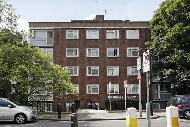 Thumbnail Flat to rent in Rockley Road, London