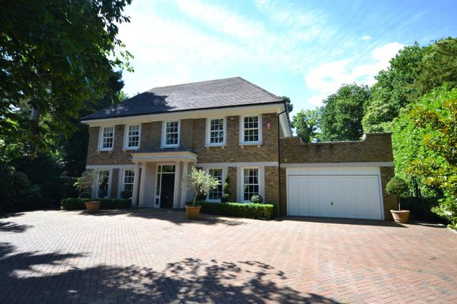 Thumbnail Detached house for sale in Granville Close, St. Georges Hill, Weybridge