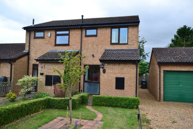 Thumbnail End terrace house to rent in Windsor Gardens, Somersham, Huntingdon