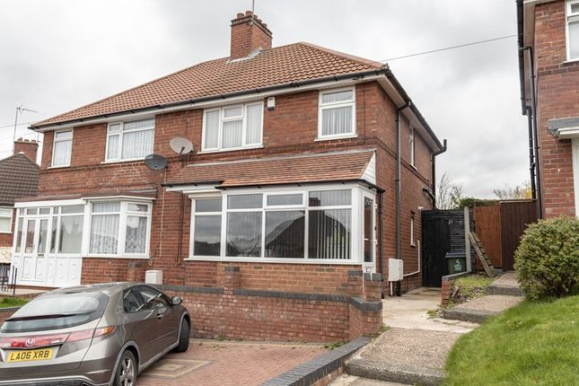 Thumbnail Semi-detached house for sale in Short Road, Bearwood, Smethwick
