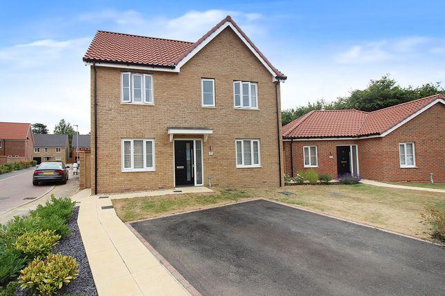 Thumbnail Detached house for sale in Serotine Avenue, Hethersett, Norwich