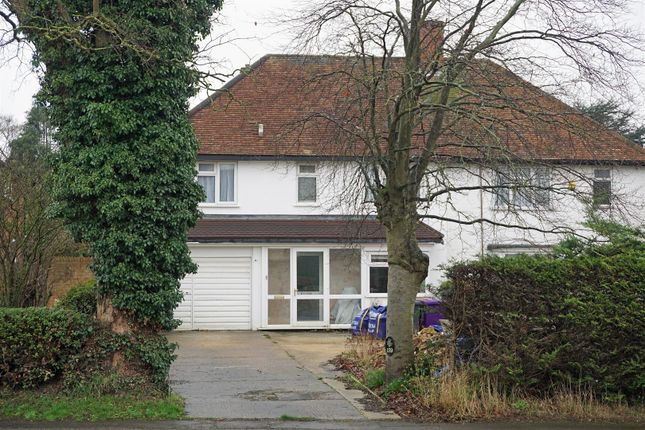 Thumbnail Semi-detached house for sale in Baldock Road, Letchworth Garden City