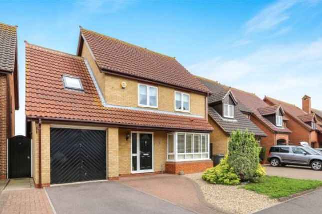 Thumbnail Detached house for sale in Merlin Drive, Sandy, Central Bedfordshire