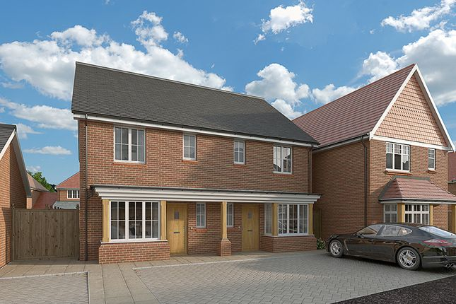 Thumbnail Semi-detached house for sale in Hitches Lane, Fleet