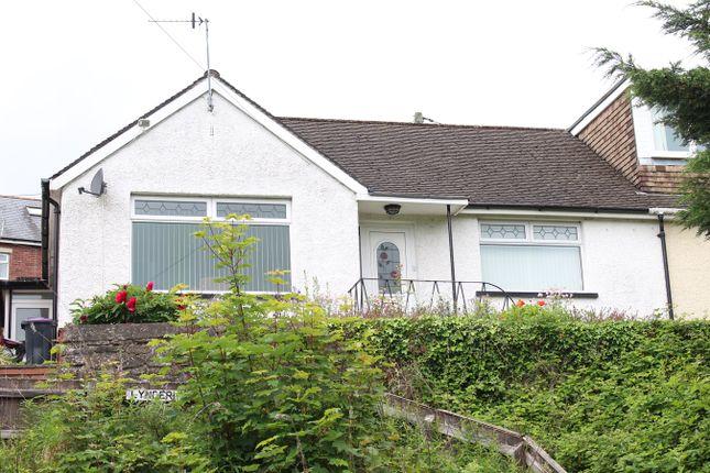 Thumbnail Semi-detached bungalow for sale in Broadway, Pontypool