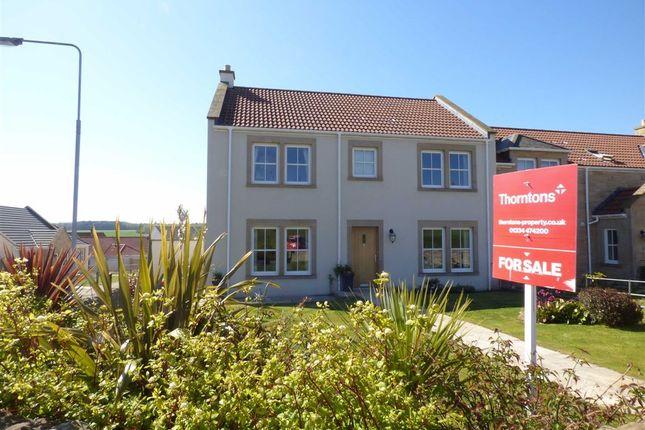 Thumbnail Semi-detached house for sale in The Glebe, Strathkinness, Fife