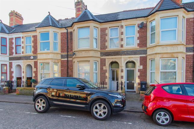 Thumbnail Terraced house for sale in Angus Street, Roath, Cardiff