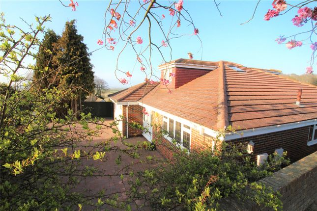 Thumbnail 4 bed bungalow to rent in Hollytree Drive, Higham, Rochester, Kent