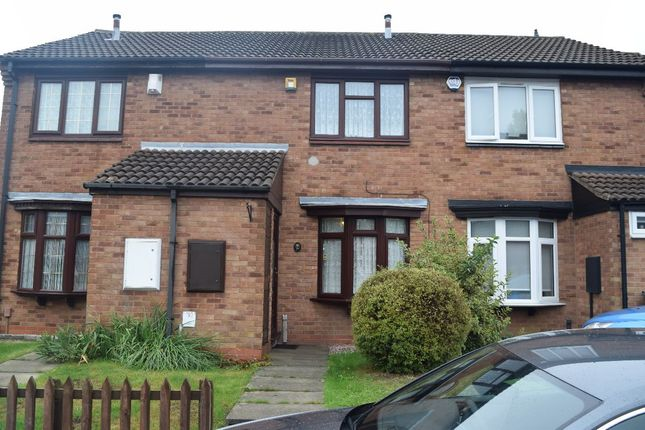 Thumbnail Town house to rent in Livingstone Road, West Bromwich