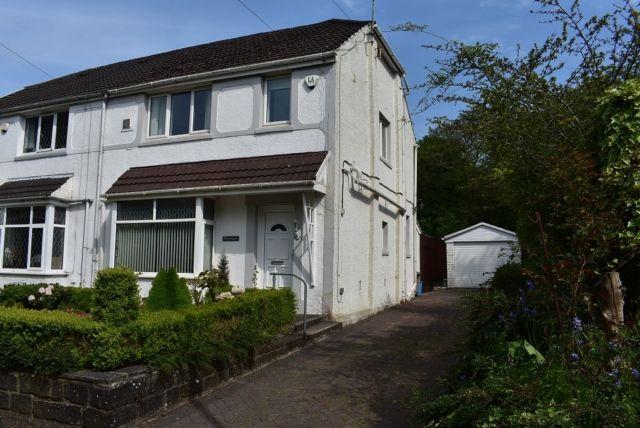 Thumbnail Semi-detached house to rent in Gwernllwynchwyth Road, Llansamlet, Swansea