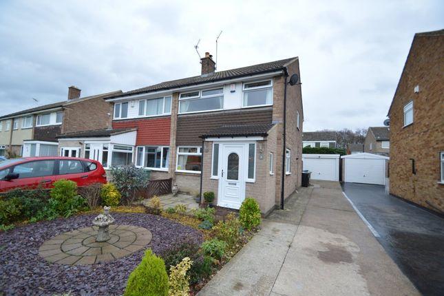Thumbnail Semi-detached house to rent in Yew Lane, Garforth, Leeds