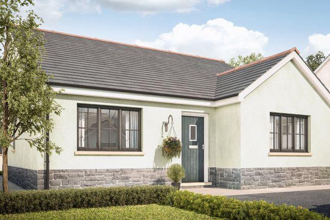 Thumbnail Detached bungalow for sale in Heol Y Banc, Bancffosfelen, Llanelli