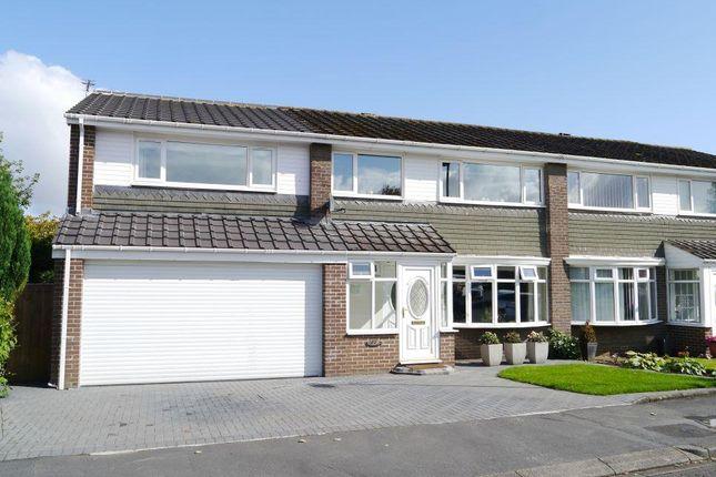 Thumbnail Semi-detached house for sale in Bracken Close, Dinnington Green, Dinnington