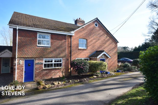 Thumbnail Semi-detached house to rent in Woodbine Lane, Burghclere