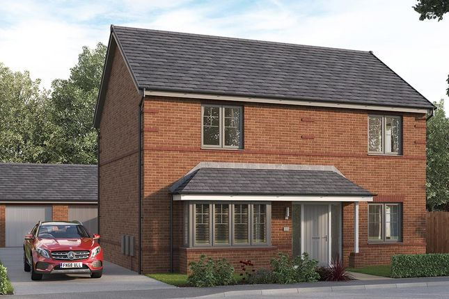 """Thumbnail Detached house for sale in """"The Amersham"""" at William Nadin Way, Swadlincote"""