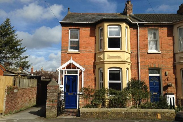 Thumbnail End terrace house for sale in St. Helens Road, Dorchester