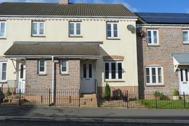 Thumbnail Terraced house to rent in Head Weir Road, Cullompton