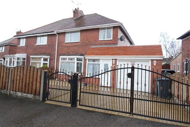 Thumbnail Semi-detached house for sale in Manor Road, Maltby, Rotherham, South Yorkshire