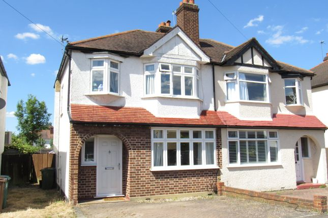 Thumbnail Semi-detached house for sale in Birchwood Avenue, Wallington