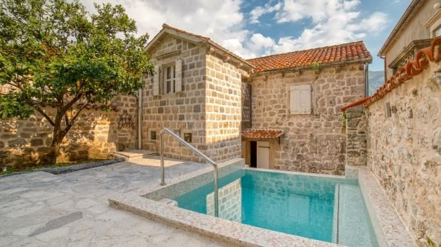 Thumbnail Property for sale in Marvellous Waterfront Stone House, Perast, Kotor Bay, Montenegro