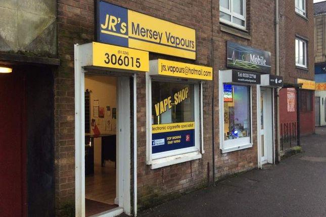 Retail premises for sale in 244 Main Street, Falkirk