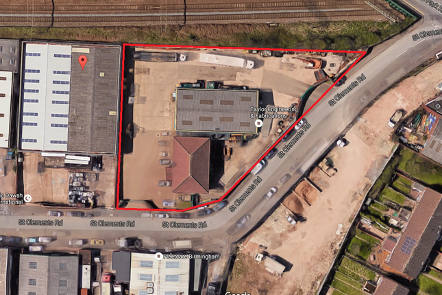 Thumbnail Industrial for sale in 5 St Clements Road, Nechells, Birmingham