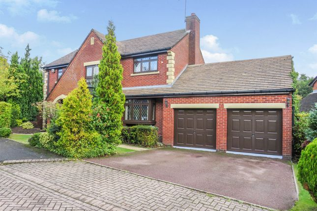 Thumbnail Detached house for sale in Dormston Close, Solihull