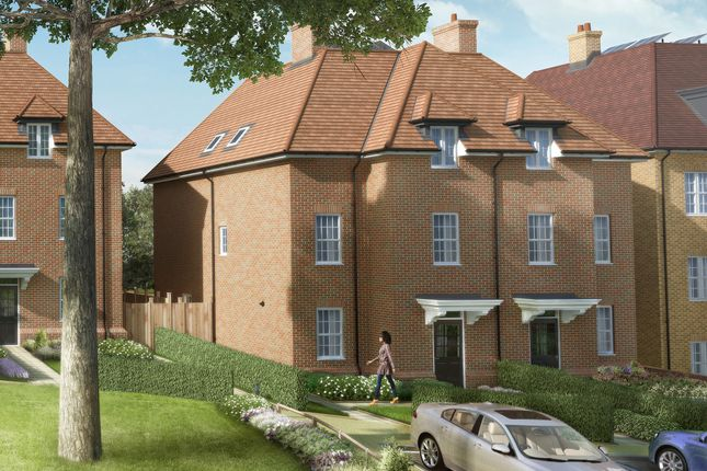 "Thumbnail Semi-detached house for sale in ""The Cedar Collection Alba"" at Elmbank Avenue, Arkley, Barnet"