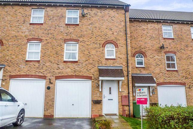 Thumbnail Terraced house for sale in John Lea Way, Wellingborough