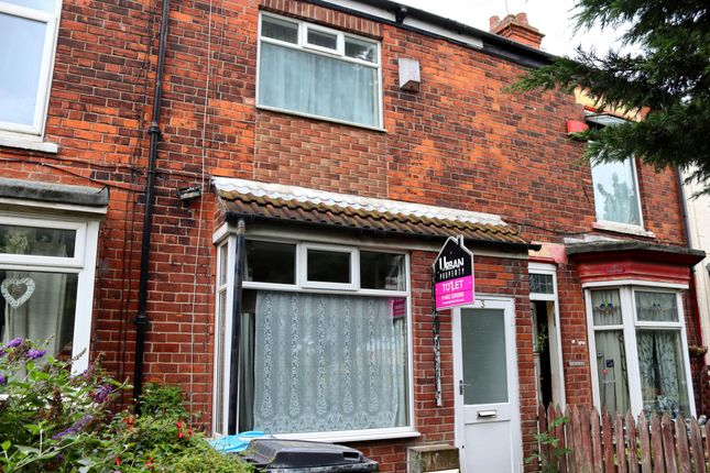 Thumbnail Terraced house to rent in Western Villas, Hull, Yorkshire