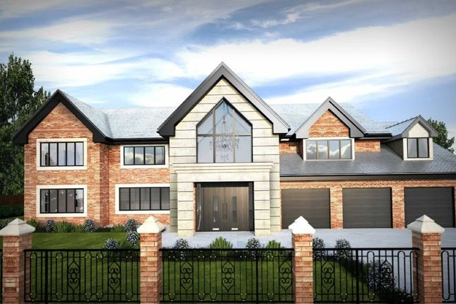 Thumbnail Detached house for sale in Fletsand Road, Wilmslow