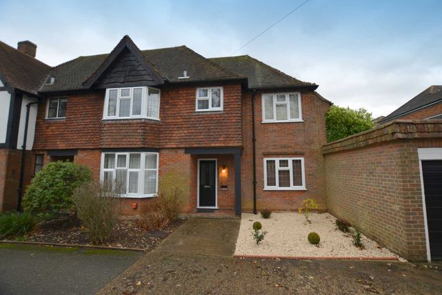 Thumbnail End terrace house to rent in Chesham Road, Amersham
