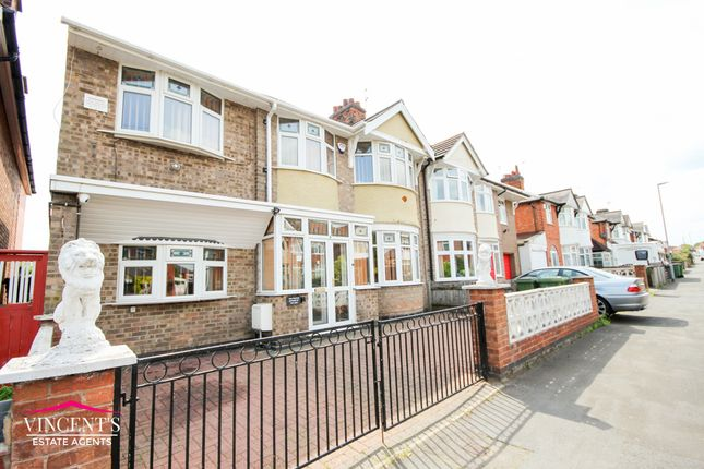 Thumbnail Semi-detached house for sale in Kirkland Road, Braunstone Town, Leicester