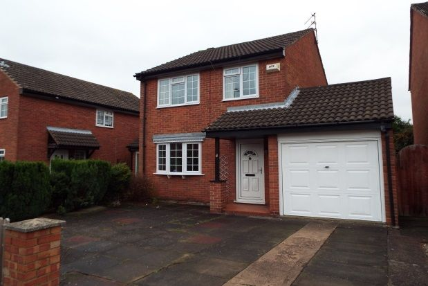 Thumbnail Detached house to rent in Rivington Drive, Loughborough