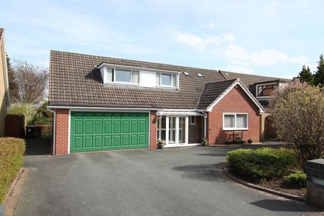 Thumbnail Detached house for sale in Berne Avenue, Newcastle-Under-Lyme