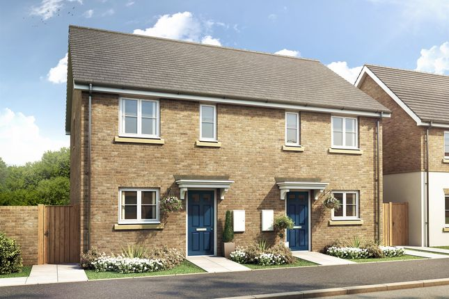 Thumbnail Semi-detached house for sale in Constantine Drive, Peterborough