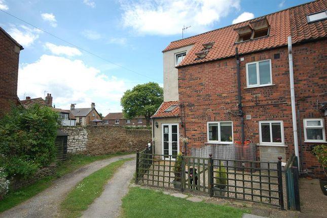 Thumbnail End terrace house to rent in St. Hildas Street, Sherburn, Malton