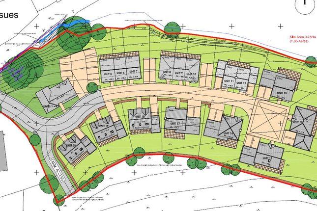Site Plan of Hobbacott Lane, Marhamchurch, Bude EX23